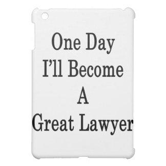 Un día haré gran abogado