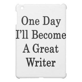 Un día haré gran escritor