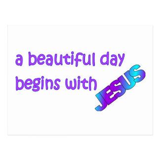 Un día hermoso comienza con Jesús Postal
