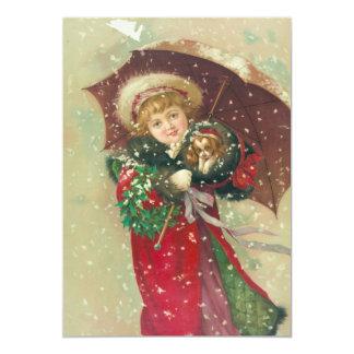 """Un día hivernal por Gray Lithograph Company Invitación 5"""" X 7"""""""