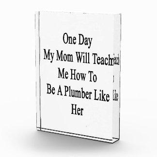 Un día mi mamá me enseñará a cómo ser fontanero L