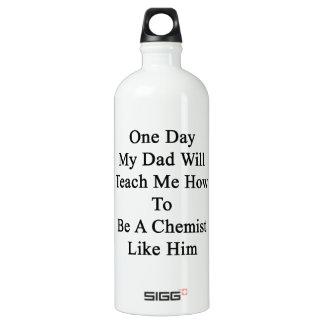Un día mi papá me enseñará a cómo ser químico L