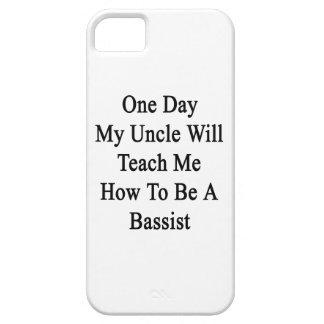 Un día mi tío Will Teach Me How de ser un bajista iPhone 5 Fundas