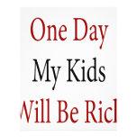 Un día mis niños serán ricos tarjetón