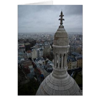 Un día mojado sobre París Tarjeta De Felicitación