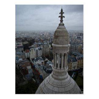 Un día mojado sobre París Postal
