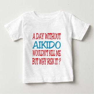 Un día sin Aikido. Remera