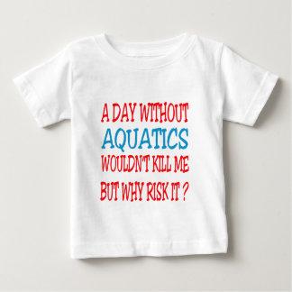 Un día sin Aquatics no me mataría Polera