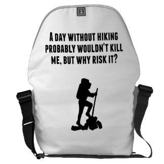 Un día sin caminar bolsa de mensajería