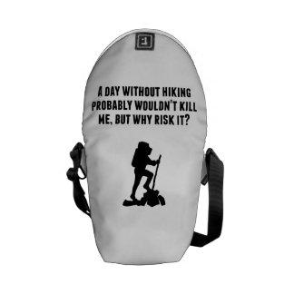 Un día sin caminar bolsa de mensajeria
