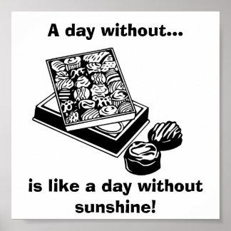 Un día sin el chocolate…: Poster de la diversión