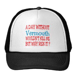 Un día sin el vermú no me mataría pero porqué ri gorras