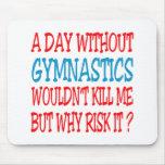 Un día sin gimnasia no me mataría alfombrilla de ratones