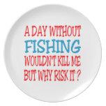 Un día sin la pesca no me mataría platos de comidas