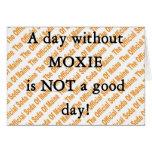 Un día sin la tarjeta del MOXIE