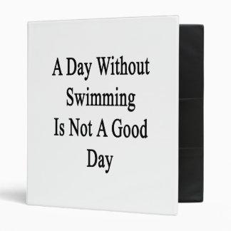 Un día sin nadar no es un buen día