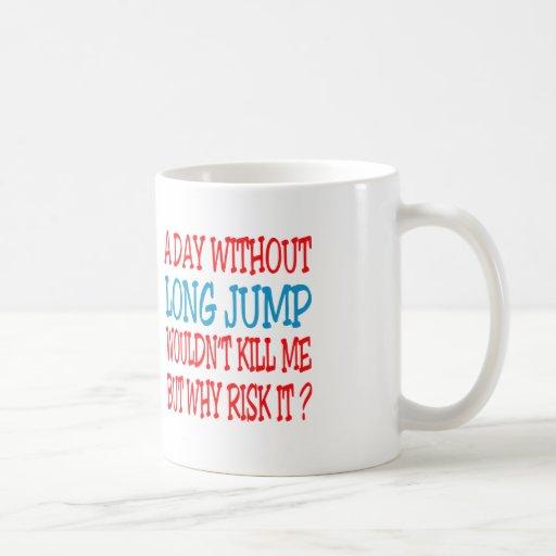 Un día sin salto de longitud no me mataría taza de café