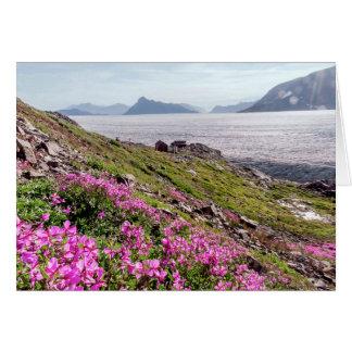 Un día soleado en Columbia Británica, Canadá Tarjeta De Felicitación