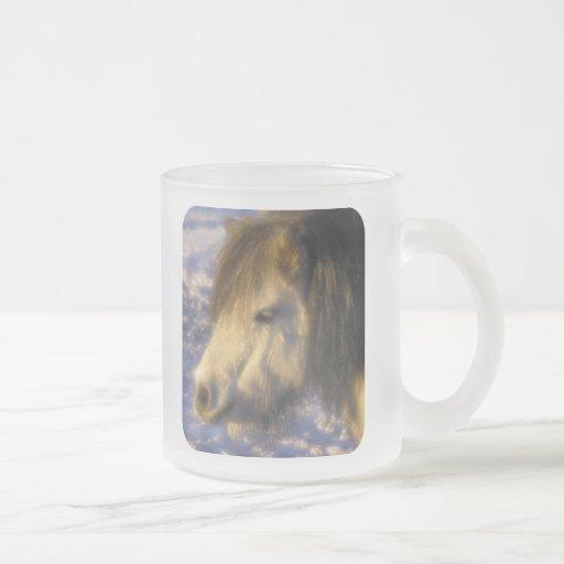 Un día soleado taza de cristal