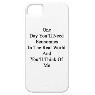 Un día usted necesitará la economía en el mundo iPhone 5 Case-Mate funda