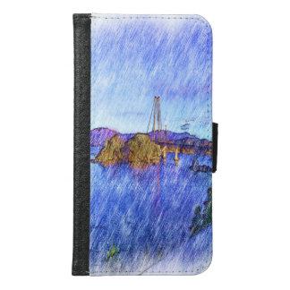 Un dibujo del puente