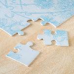 Un diente de león azul puzzles con fotos