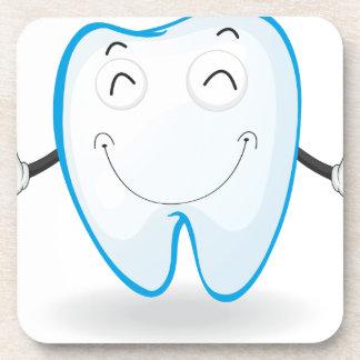 un diente posavasos