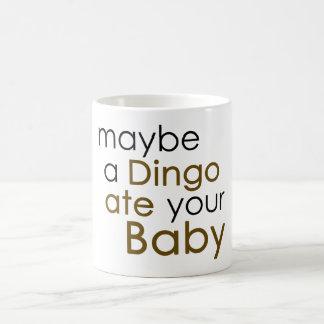 Un Dingo comió quizá a su bebé Taza Clásica