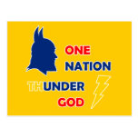 Un dios del trueno de la nación tarjeta postal