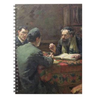 Un discusión teológico, 1888 notebook