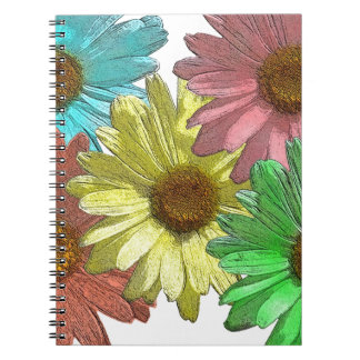 Un diseño de la margarita de Gerber Cuadernos