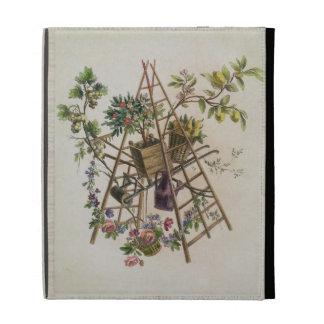 Un diseño de la materia textil del jardín de la