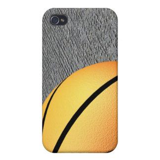 Un diseño elegante del baloncesto de NBA del caso  iPhone 4/4S Carcasas