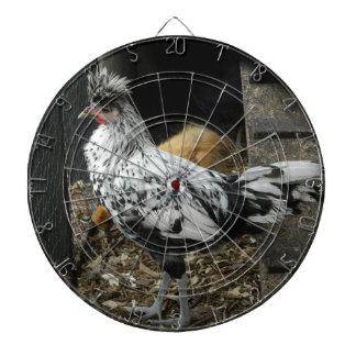 un diseño maravilloso de un pájaro exótico hermoso tabla dardos