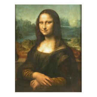 Un disponible no más de alta resolución. Mona_Lisa Postal