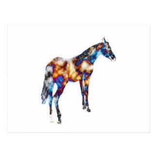Un diverso caballo de un diverso color postales