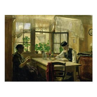 Un domingo pacífico, 1876 postales