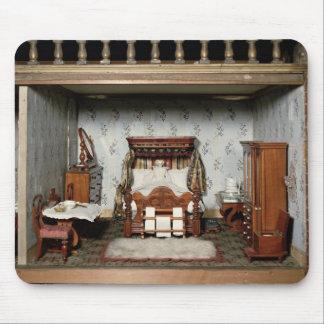 """Un dormitorio en """"Pleasure de señora Bryant"""", c.18 Alfombrillas De Ratón"""