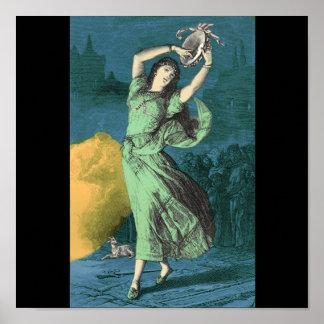 Un ejemplo de color de Esmeralda Impresiones