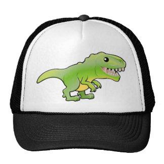Un ejemplo de un dinosau lindo del rex del tyranno gorra
