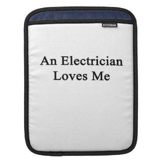 Un electricista me ama manga de iPad