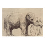 Un elefante de Rembrandt Postal