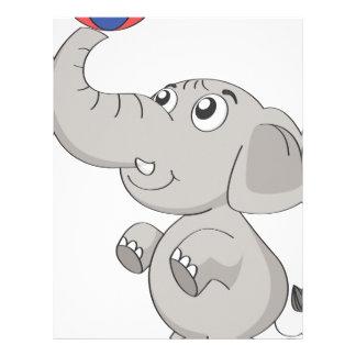 un elefante membretes personalizados