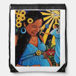 Un Embarazo Místico Drawstring Bag