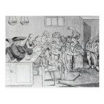 Un enlace y un juicio tarjeta postal