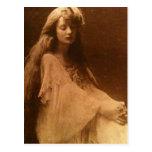 Un ensueño nebuloso del Victorian Tarjetas Postales