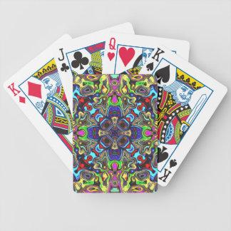 Un equilibrio de los colores 1 barajas de cartas