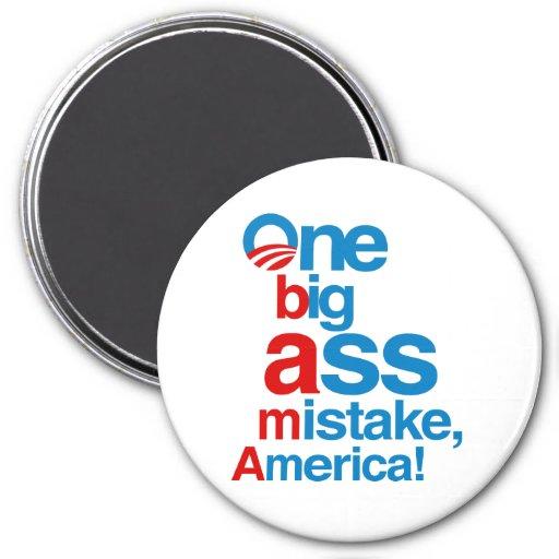 Un error grande del asno, América - Iman