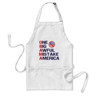 Un error tremendo grande, América Delantal