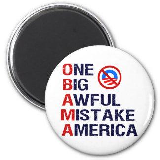Un error tremendo grande, América Imán Redondo 5 Cm